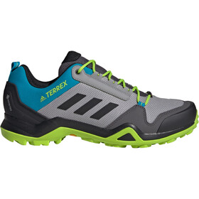 adidas TERREX AX3 Gore-Tex Hiking Shoes Waterproof Men light granite